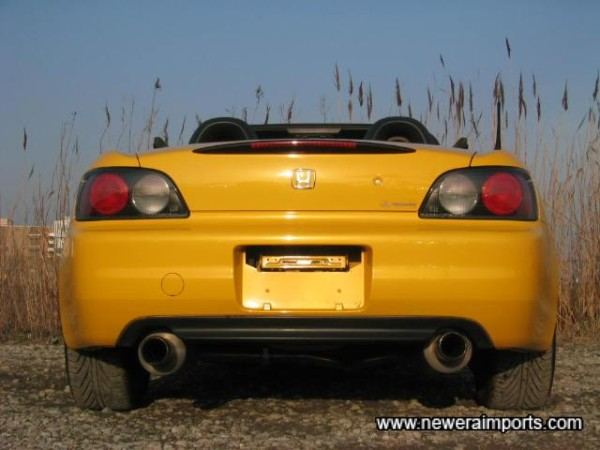 Mugen exhausts. The best available.