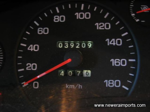 Original mileage in km - before conversion in UK