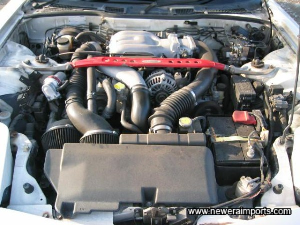 Standard engine spec - reliable and low insurance costs.