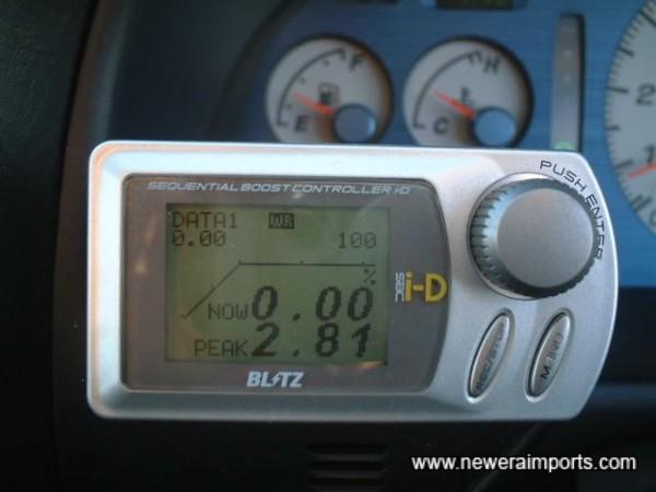 Blitz ID Solenoid Boost Controller.