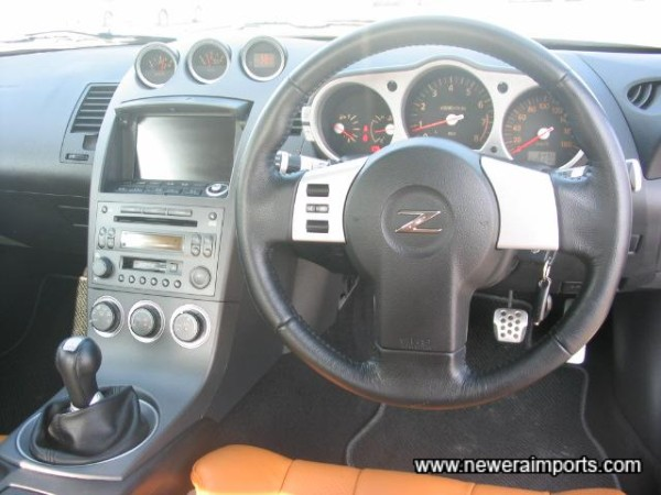 Remote Controls on the steering wheel - for audio.