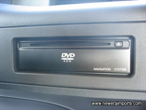 DVD Navigation Console.... Ripe for a game Console!