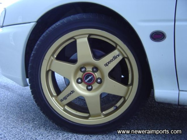 17' Lightweight gold speedlines