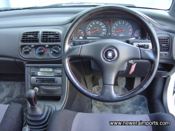Nardi leather steering wheel