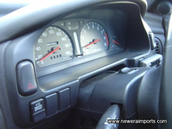 STi Rev Counter. Indicator to show centre diff bias setting.