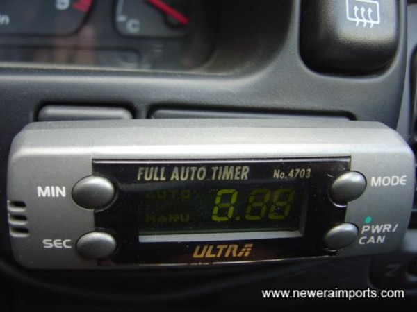 Fully Automatic Turbo Timer