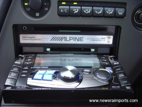 Folds open to insert CD or Minidisc.