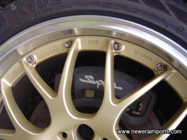 Original Updated brakes.