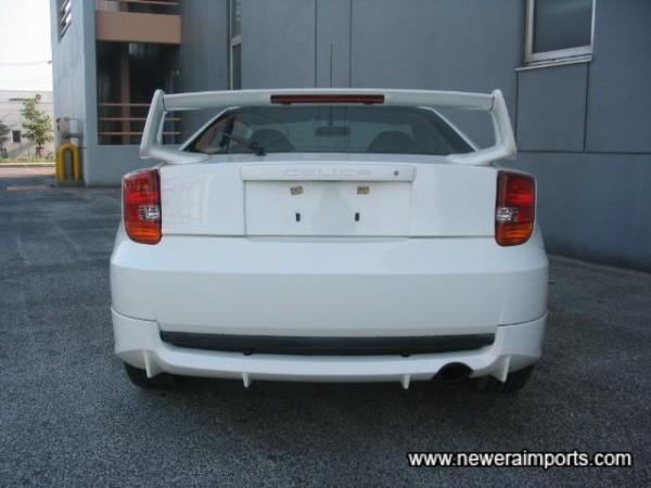Bodykit includes rear diffuser.