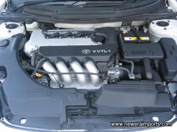 VVTi 190 Engine - Thrives on revs.
