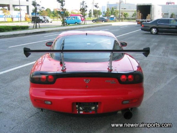 Rear end spells 'Bye Bye' BMW, Porsche, etc!