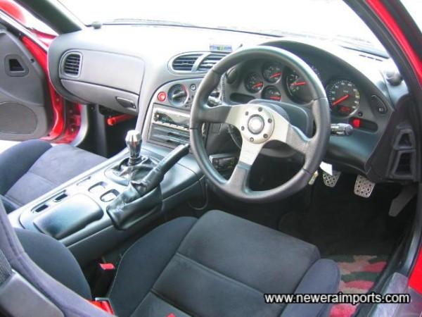 'Momo Race' Steering Wheel.