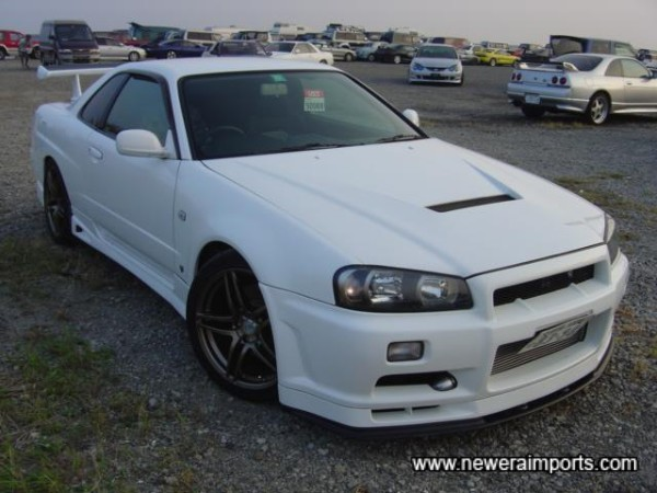 Says R34 GT-R from any angle...