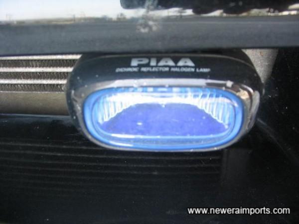 PIAA driving lights.