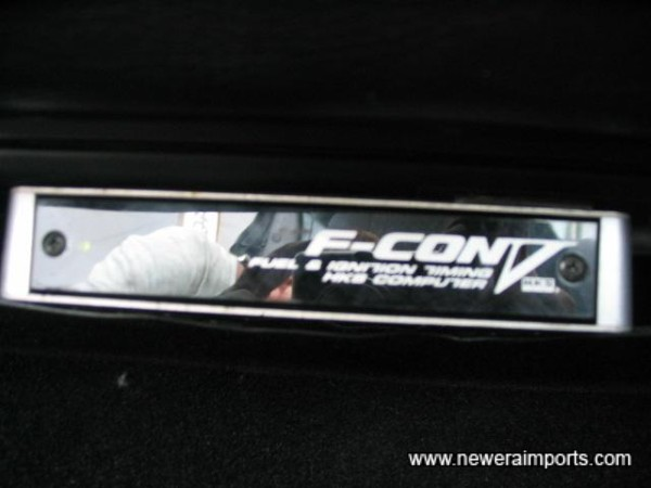 HKS F-Con V - recognised as the best ECU from Japan.