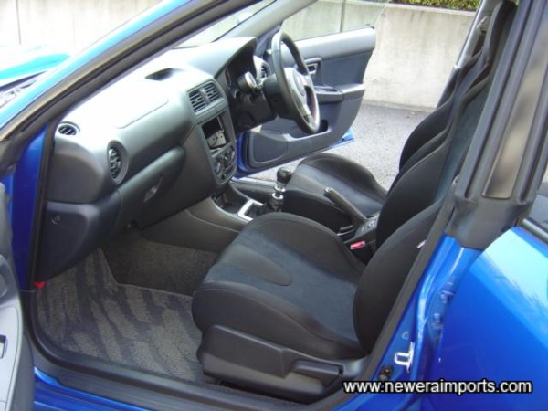 Completely unmarked interior