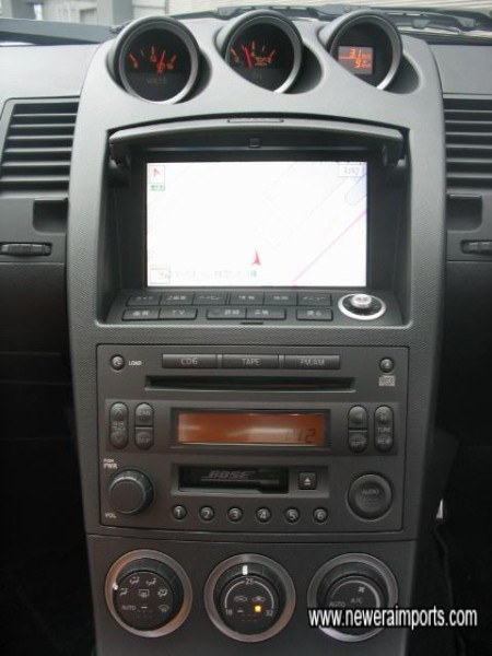 Sat Nav & TV can be made to work perfectly in the UK.