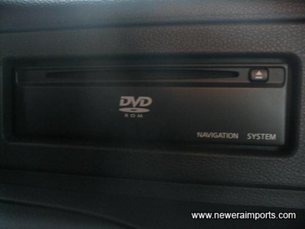 DVD Rom, the latest technology in Sat Nav.