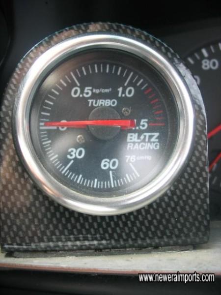 Blitz racing boost gauge.