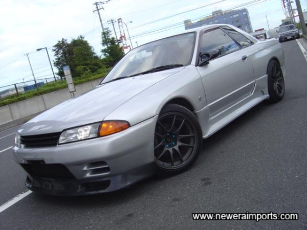 Silver - one of the nicest colours for R32's