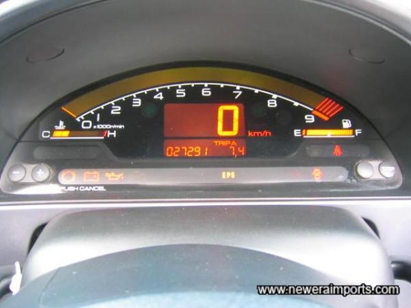 Digital Dash Display