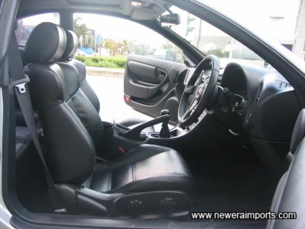Original leather interior. RARE!!