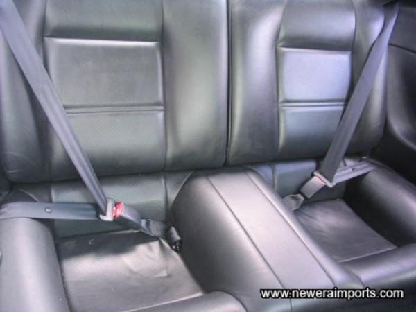 Matching rear seats.