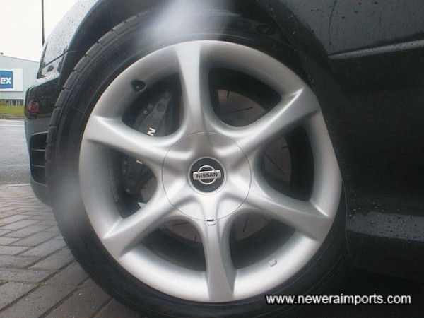 17' Alloy Wheels With New Goodyear Eagle's
