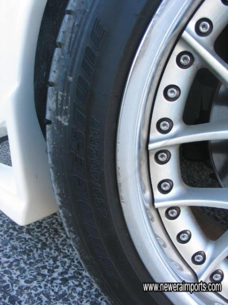 235/40/17 Front Tyres