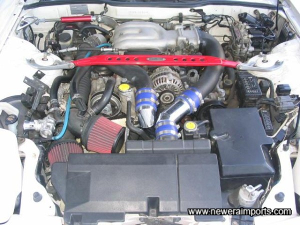 The Very Clean Rotary Engine Bay