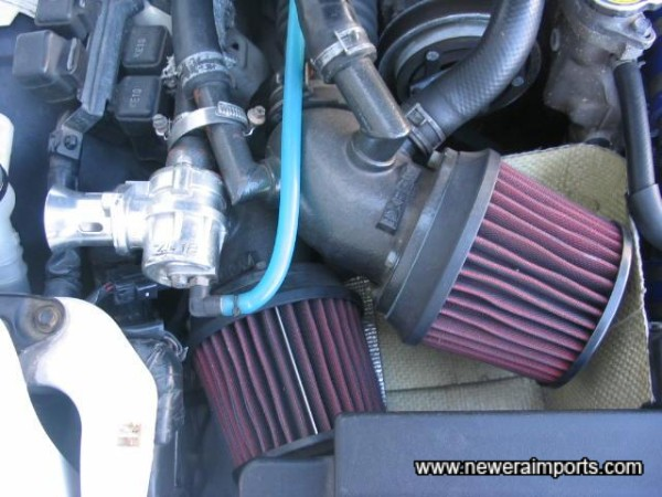 Apexi Dual Induction and Blitz Blow Off Valve