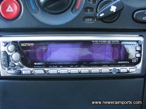 Kenwood CD/MD/Radio