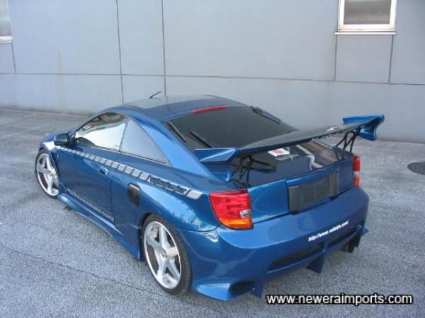 No ordinary rear bumper!