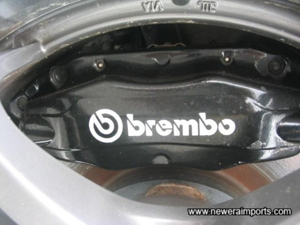 Brembo Brakes, Front and Rear