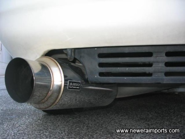 RSR Exmag GTII Exhaust