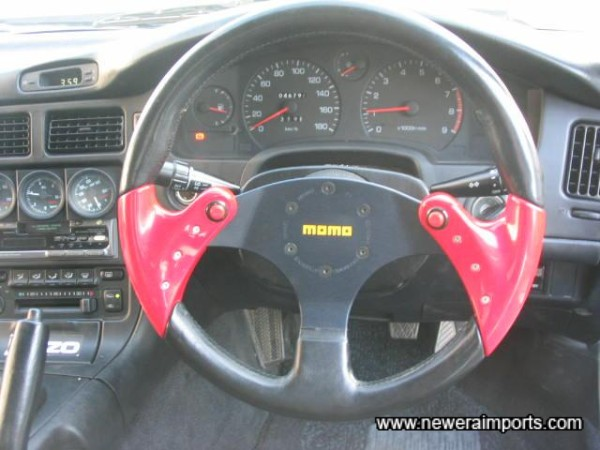 Momo Spider Steering Wheel