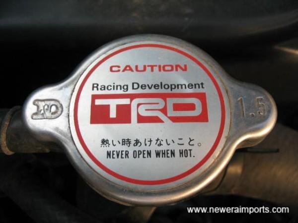 TRD Oil & Coolant caps.