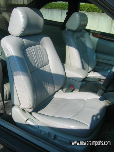 Electric Driver & Passenger front seats