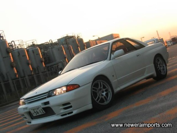 Dressed with Nismo Intercooler vents and bonnet lip.