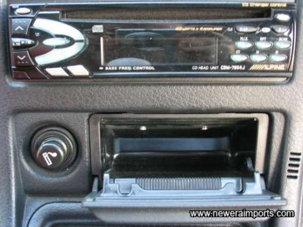 Hifi is included Free of charge. Non smoker's car since new!