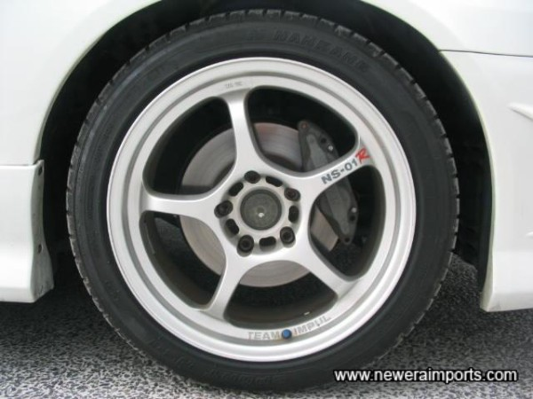 17' Impul NS-01R Lightweight Alloy Wheels