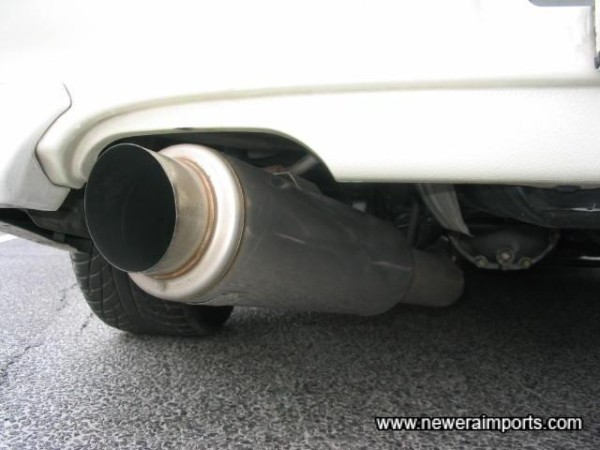 5Zigen Stainless Steel Exhaust