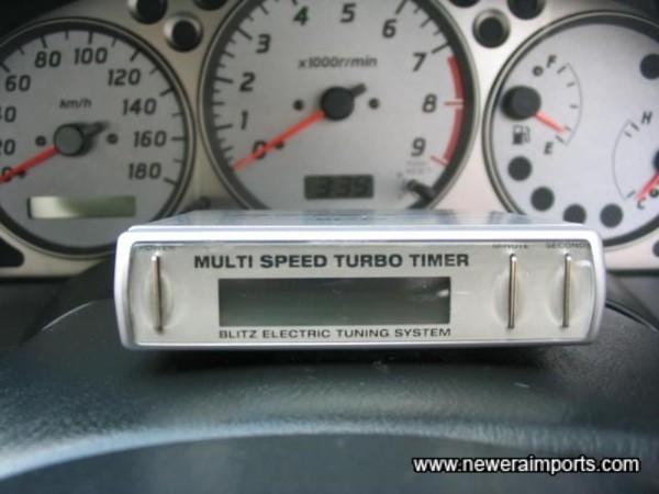 Blitz MSTT Turbo Timer
