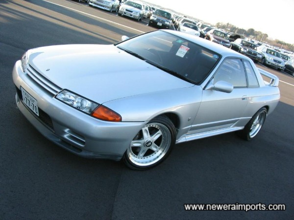 Silver - One of the rarest & best colours for an R32 GT-R.