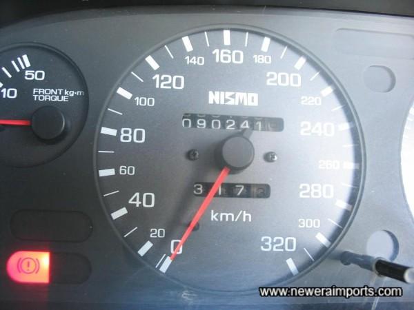 Nismo Speedometer.
