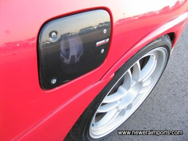 TRD Sports lid for fuel cap.