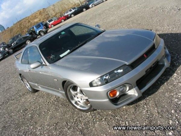 GTS-T Type M2 - The last update model of R33 GT-St.
