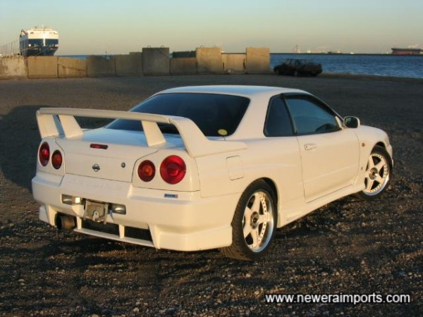Optional High Level Rear Spoiler and Bodykit