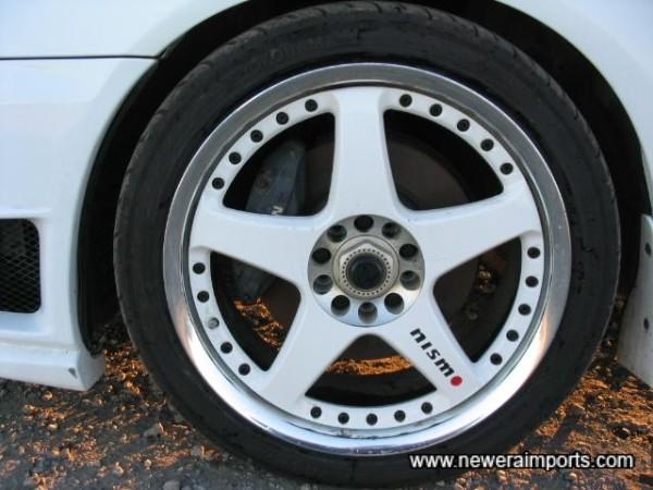 Nismo LMGT3 Forged Split-Rim Alloys