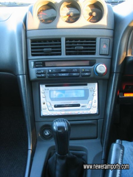 Centre Console Layout